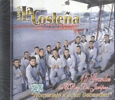 Banda La Costena 15 Grandes de El Rey Del Jairpeo Joan Sebastian CD New Sealed
