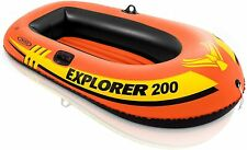 Intex 2 Person Explorer 200 Inflatable River Boat Raft for Kids and Adults