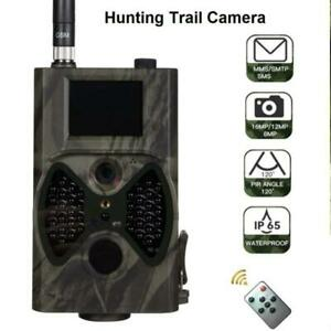 Outdoor Hunting Cameras 16MP Photo Trap 1080P Photo MMS / SMTP / SMS Waterproof