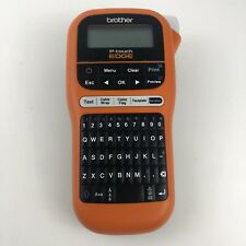 Brother P Touch Edge Pt E105 Portable Handheld Industrial Label Maker Tested
