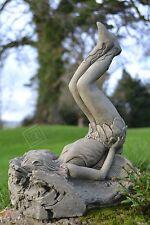 Fairy Stone Garden Ornament (Erin the Playful Fairy)