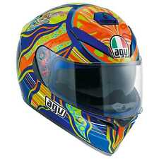 New AGV K-3 SV Helmet, Five Continents/VR46 Valentino Rossi, ML(Medium/Large)