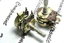 1pcs Noble 100k B Balance Dual Potentiometer Knurled Japan
