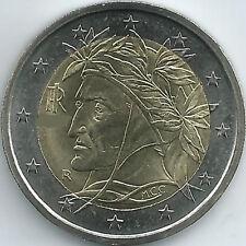 Italien 2 Euro Kursmünze (2002 - 2018), unzirkuliert/bankfrisch
