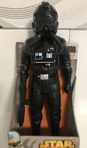 "Star-Wars Rebels Jakks Tie Fighter Pilot Big Fig 18""  New Boxed 2014"