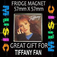 TIFFANY - I THINK WE'RE ALONE NOW -FRIDGE MAGNET 57MM X 57MM CD54S