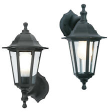 Dual Mounting Security Wall Outside Coach Lantern Outdoor Garden Light Fitting