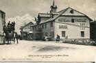Carte GEX Hôtel Col de la Faucille et le Mont Blanc