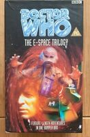 DR WHO THE E SPACE TRILOGY VHS VIDEO BOXSET RARE