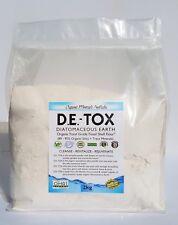 D.E.-TOX Food Grade Organic Diatomaceous Earth Perma-Guard™- 4kg - FREE SHIPPING