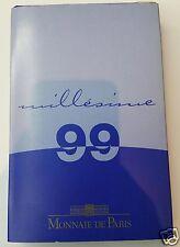 FRANCE PROOF BE COFFRET BELLE EPREUVE 2€ à 1ct 1999