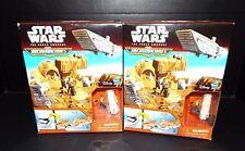 2 Star Wars The Force Awakens Stormtrooper Playset Micro Machines Sealed Disney