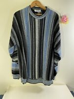 Vintage Amana Woolen Mill Mens Striped Sweater (No Size)
