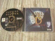 PLAYSTATION 1 PS1 VAMPIRE HUNTER D JAPONÉS USADO BUEN ESTADO