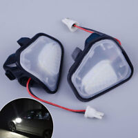 2x Side Wing Mirror Puddle Lights Fit for VW CC Passat Scirocco Santana 4motion