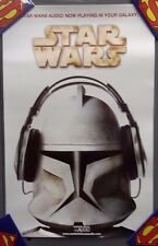 "Star Wars Audio Promo 11""x17"" Poster -Random House Audio- FREE S&H (ITCPO-1215)"