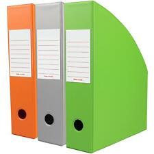 OfficeCentre® 3 x Bright Magazine Office Paper Storage Holder Organiser File