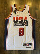 New NWT Nike #9 MICHAEL JORDAN 1992 USA Dream Team Olympics Jersey Medium 40 M