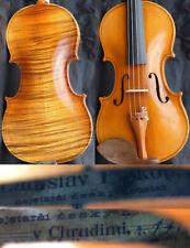 Listen to Video ! 4/4 Antique Bohemiam Violin Lad. PROKOP 19c. Fiddle 小提琴 ヴァイオリン