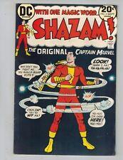 Shazam! #5  The Original Captain Marvel vs a Leprechaun 1973   Nice F/VF!