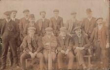 Gentlemen   with Cricket-bat,    RP    3-piece suits   cloth caps      QT1421