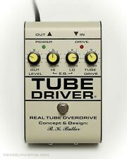B.K. Butler Tube Driver Tube works 12ax7 distortion overdrive timmons johnson