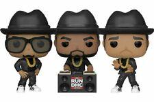 Funko Pop! Rocks RUN-DMC Complete Set of 3 Presale with Protectors
