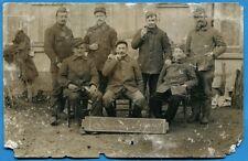 CPA PHOTO: Soldats du 57° Régiment d'Infanterie / Guerre 14-18 / 1915