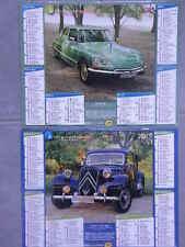 CALENDRIER ALMANACH POSTAL 2015   CITROEN DS / CITROEN 11 CV 1955