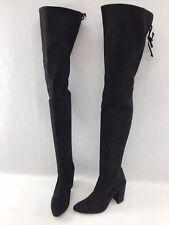Stuart Weitzman Black Suede Thigh High Boots Size 7.5M K675