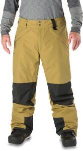 New 2019 Dakine Mens Smyth Pure 2L GORE-TEX® Snowboard Pants Large Fennel/Black