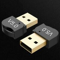 USB Bluetooth 5.0 Adapter Wireless Dongle Stereo Audio TV Laptop PC Z8B7