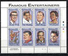 GAMBIA 1993, MUSIC: ENTERTAINERS, ROCK & ROLL, RHYTHM & BLUES Scott 1395, MNH