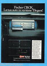 QUATTROR984-PUBBLICITA'/ADVERTISING-1984- C BOX by FISCHER