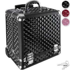 Valise cosmétique Trolley bagages valise de maquillage case à bijoux