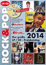 Rock & Pop Preiskatalog LP 2014 neu und ovp kein Porto + DVD mit 5.000 Coverabb.