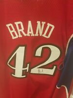 ELTON BRAND signed jersey autographed 76ers sixers nba auto size xl auto #42