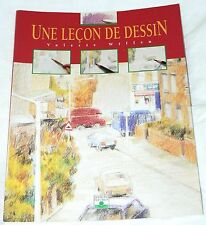 Une Lecon de Dessin - Valerie Wiffen (2000 pb) French text: A Lesson of Drawing