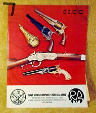 Vintage Navy Arms Company / Replica Arms Gun Catalog