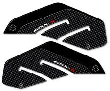 2 Adesivi 3d Protezioni laterali compatibili x Moto Suzuki GSXS Gsx-s 750 Carbon