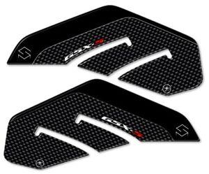 2 Stickers 3D Guards Side Compatible X Motorcycle Suzuki Gsxs GSX-S 750 Carbon