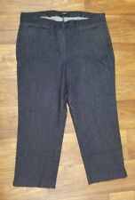 Talbots Slim Plus Sz 16W Dark Wash Women's Jeans