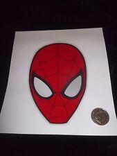 Genuine Marvels Spider Man Head Window Cling Sticker Car Mirror Children Comic