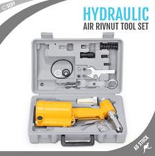 Air Hydraulic Pop Rivet Gun Rivnut Tool Nut Riveter Garage Workshop Pneumatic