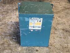 Square D C2S1FY Single Phase 2 kVA Transformer Pri. 480/240V, Sec. 240/120V