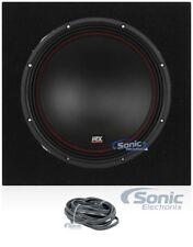"MTX 5512-44 12"" 800W DVC 4-ohm Car Audio Subwoofer+Sealed Sub Box Enclosure"