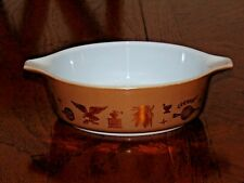 Vintage Pyrex Cinderella Early American 1 Pint Bowl 471