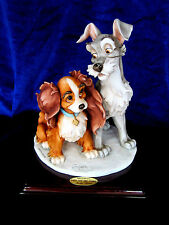 G. ARMANI DISNEY #1829C LADY & THE TRAMP BRAND NIB  DOG LOVE MATE CUTE SALE RARE