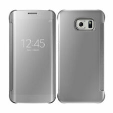 Silver Mobile Phone Flip Cases for Samsung