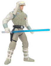 Star Wars Power of The Force Luke Skywalker Hoth Action Figure